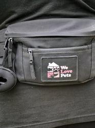 dog walker bum bag