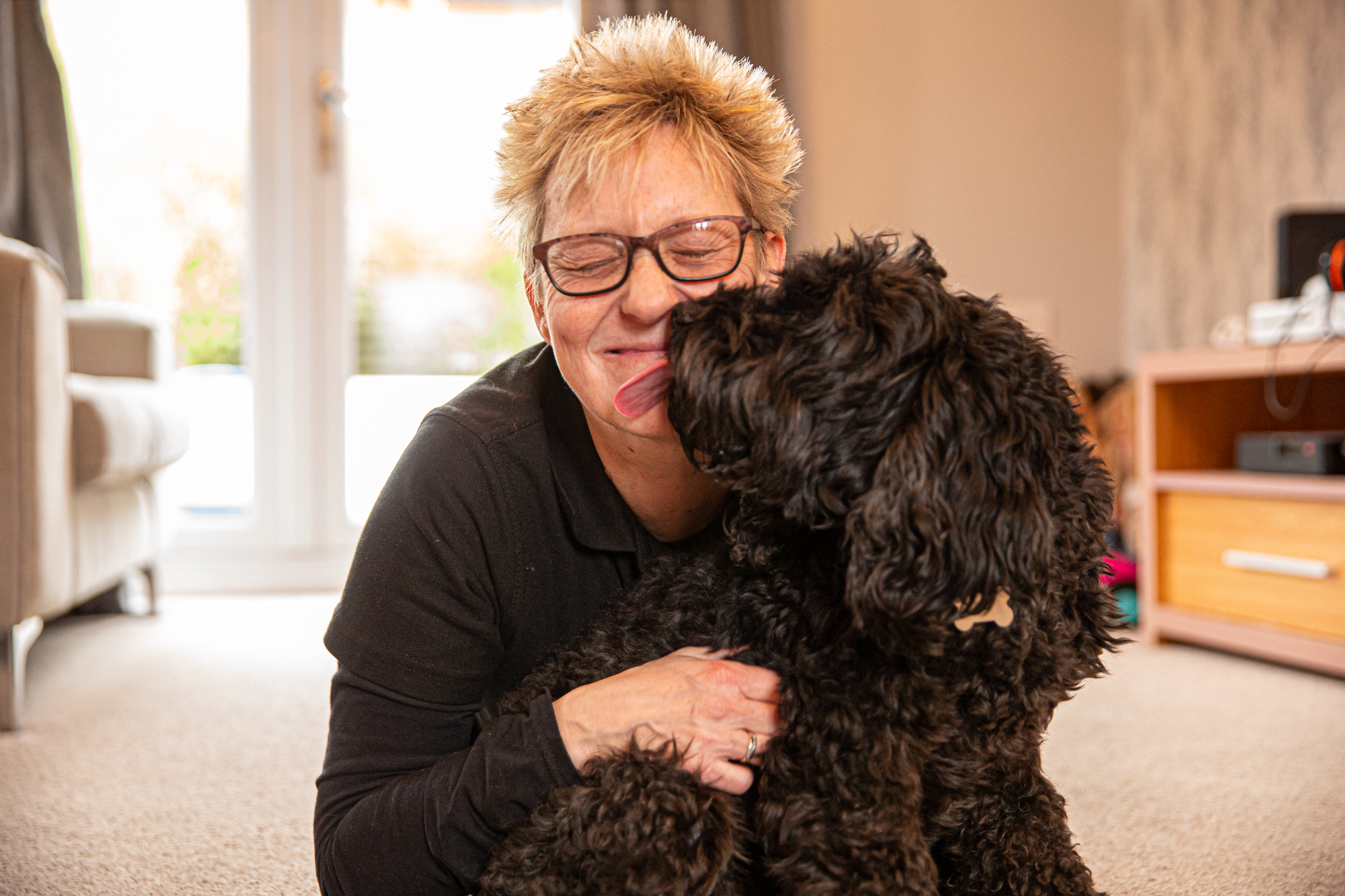 Viv Massey-Gallears branch director for We Love Pets Telford