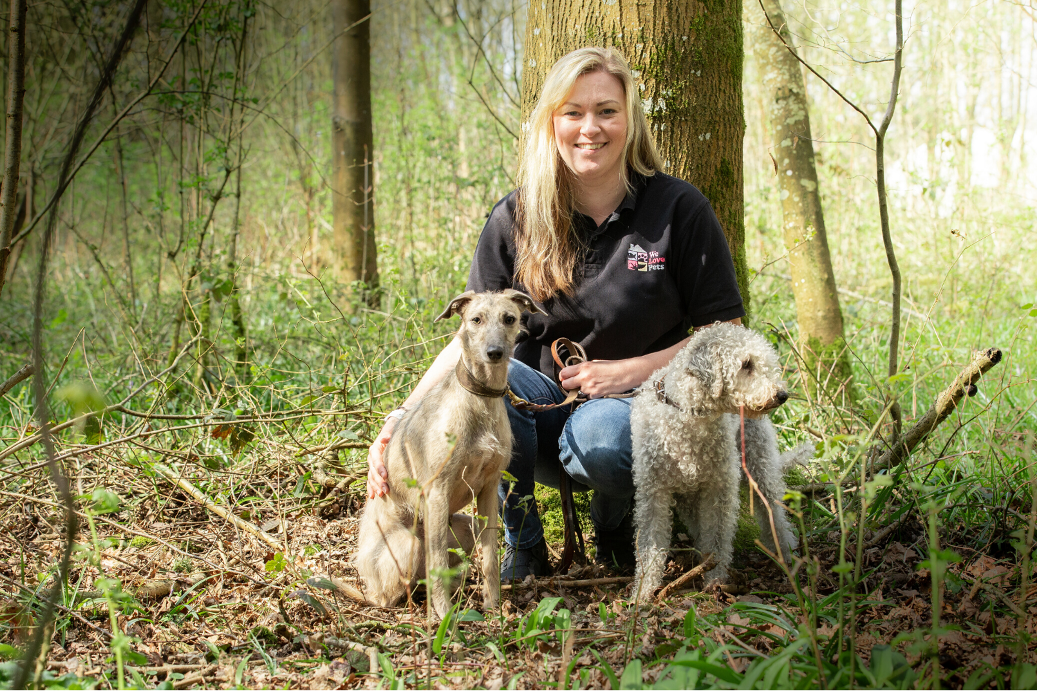 Fully insured dog walking, dog visits and puppy care for Fleet