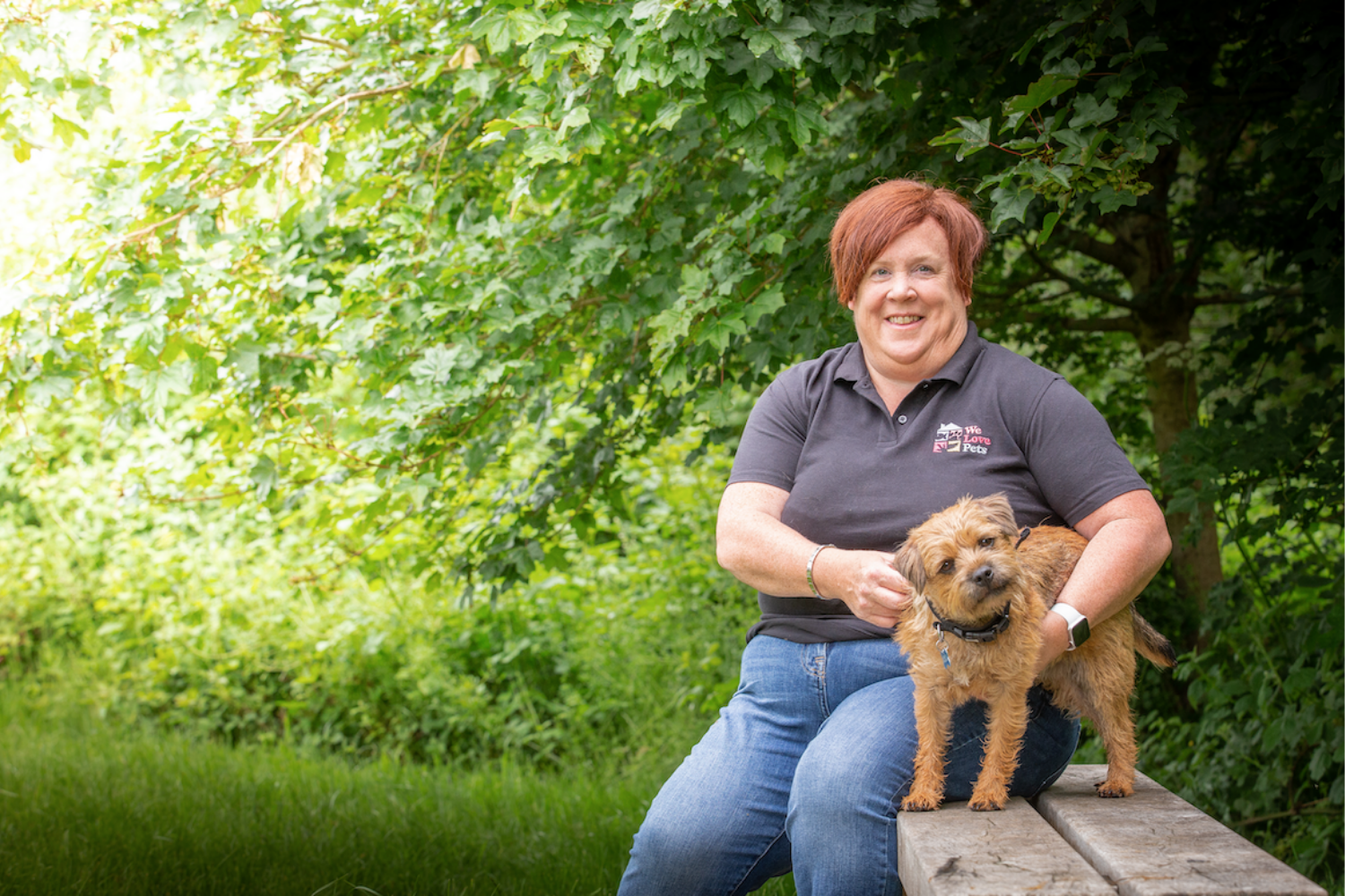 Dog walker and pet sitter in North Bristol. Multi award winning We Love Pets.
