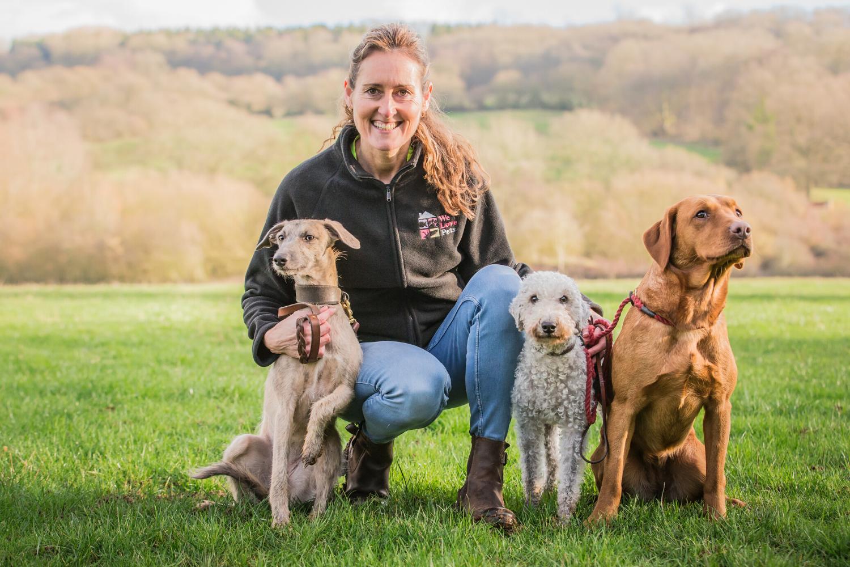 Dog walker and pet sitter for Pontypool. Award winning We Love Pets.