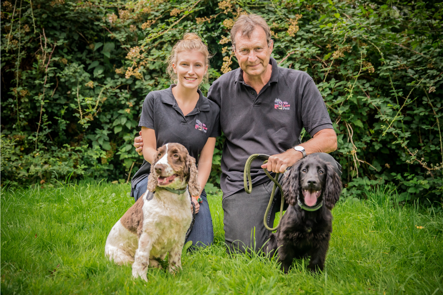 Dog walker and pet sitter in Royal Wootton Bassett. Your pet is in safe hands at We Love Pets.