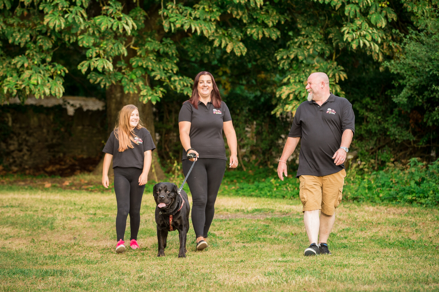 Dog walker and pet sitter in Trowbridge. Multi award winning We Love Pets.
