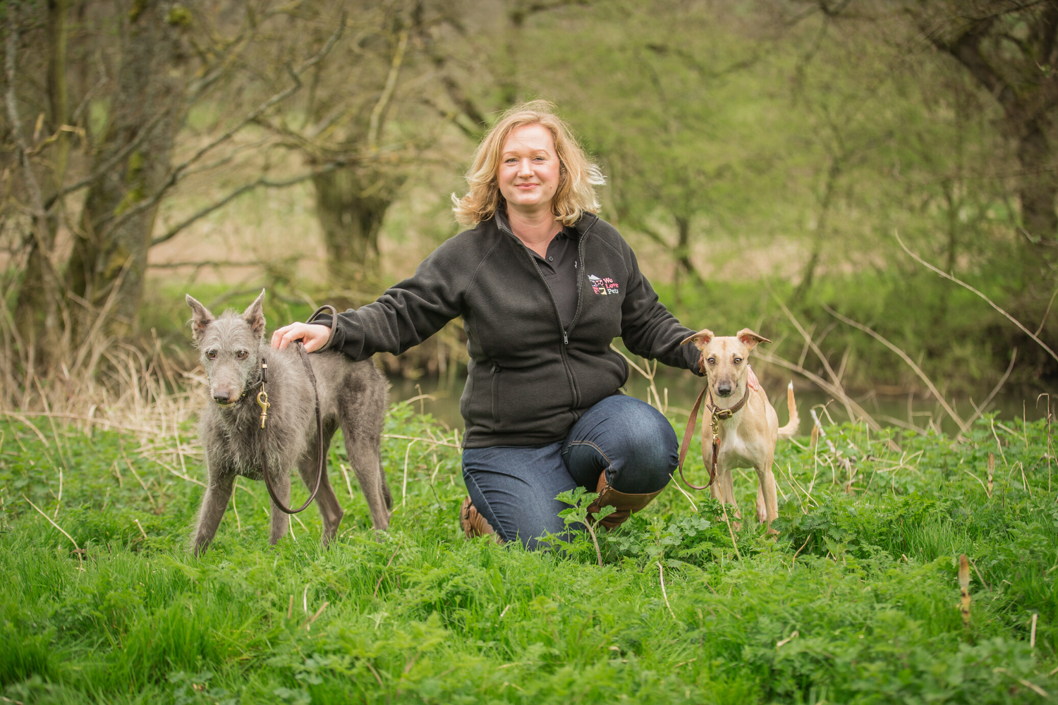 Dog walker and pet sitter for Twyford. Multi award winning We Love Pets.