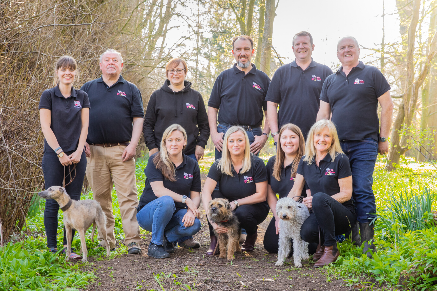 Dog walker and pet sitter in Wotton-under-Edge. Multi award winning We Love Pets.
