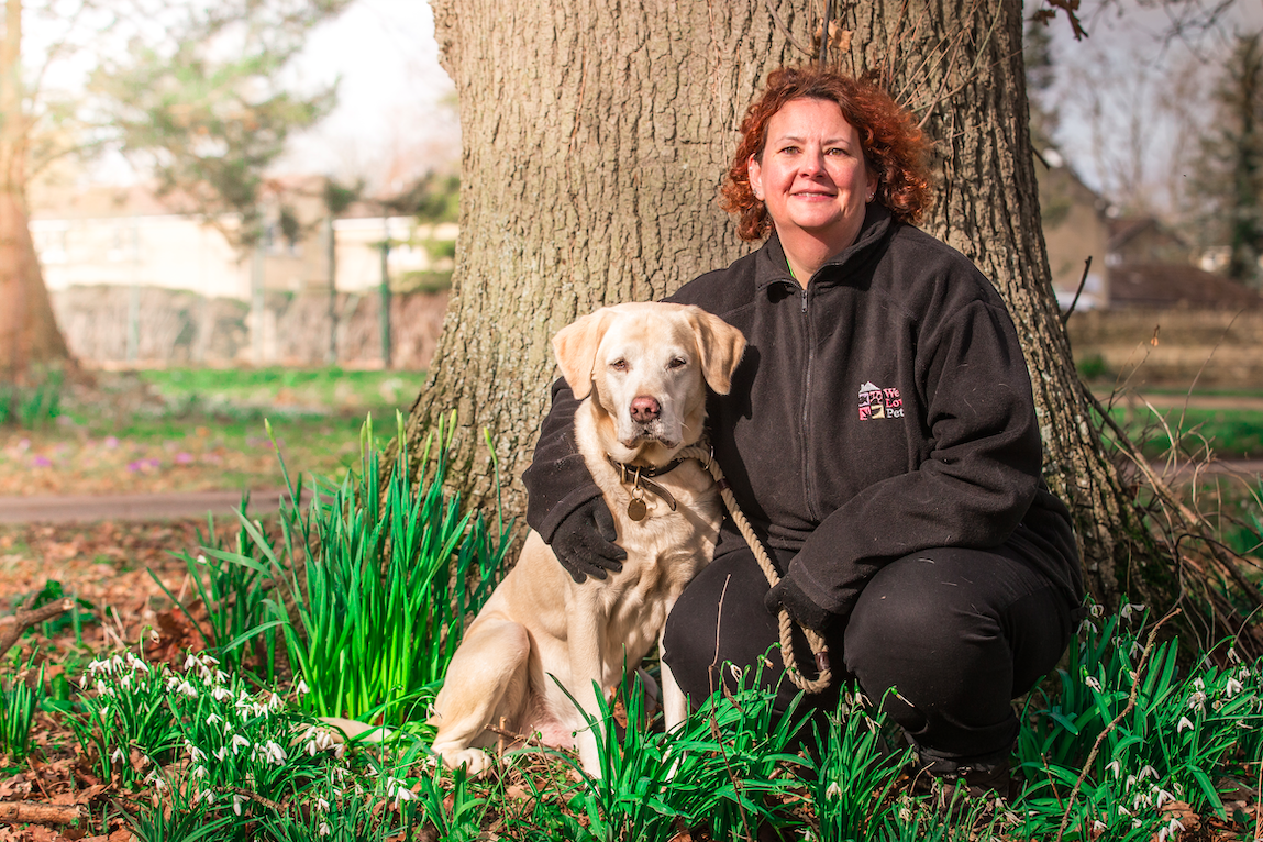 Dog home boarding job with We Love Pets