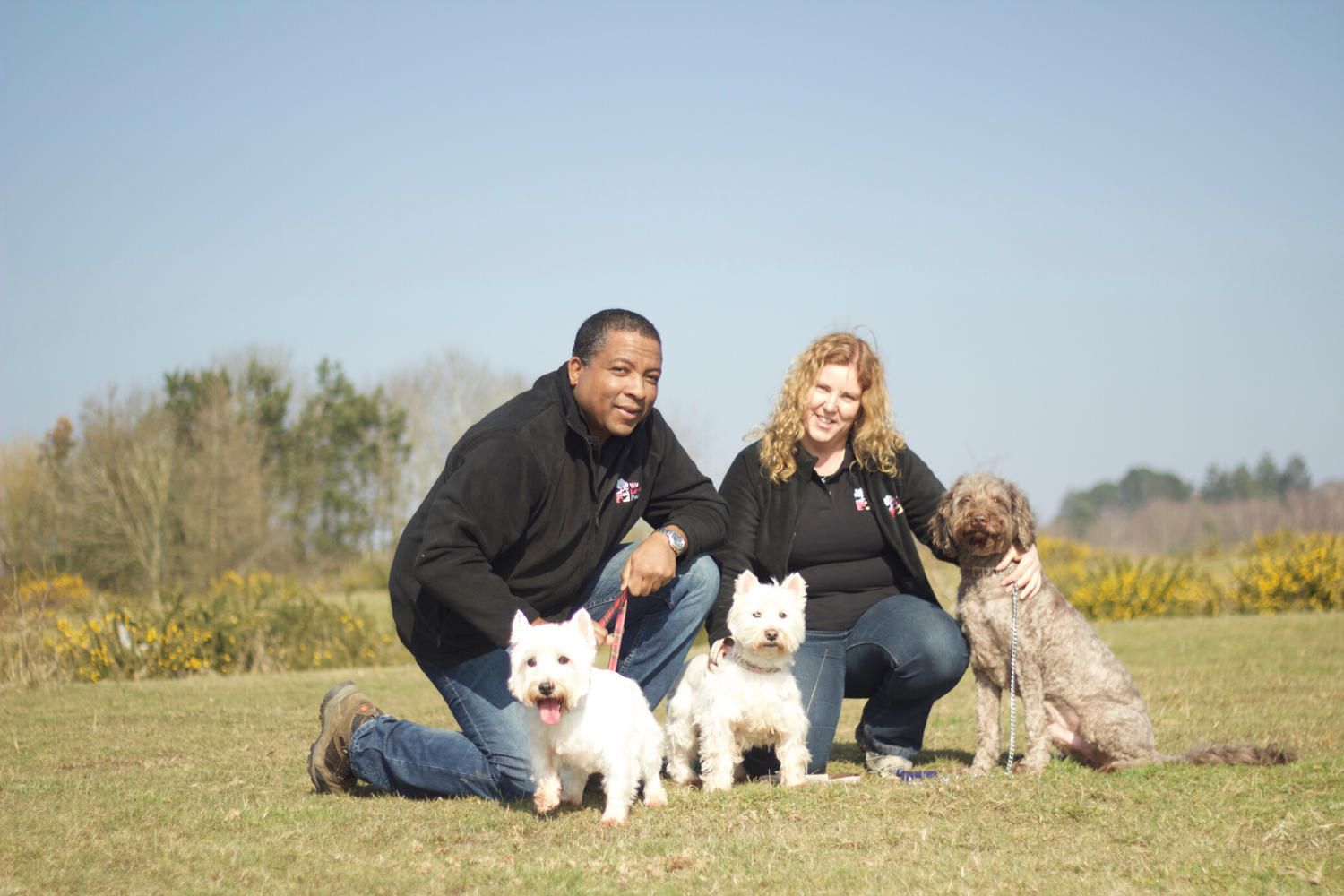 Dog walking has more than just physical benefits