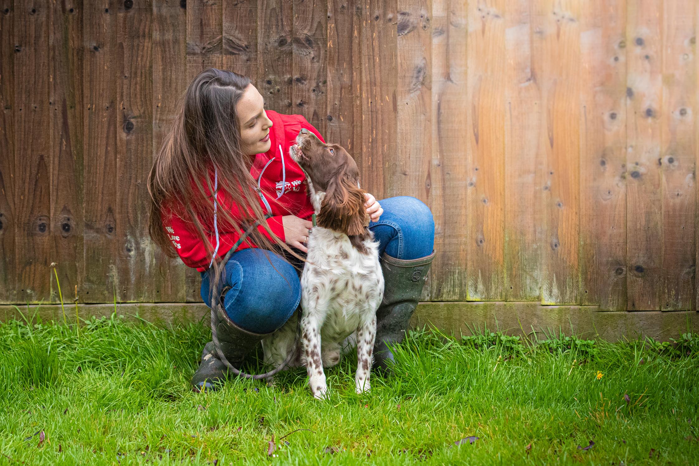 Dog walker and pet sitter in Stourbridge. Multi award winning We Love Pets.